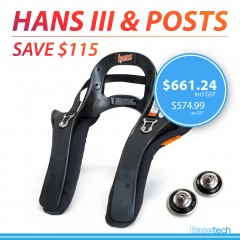 HANS III Device - 20 Degree With FREE Posts