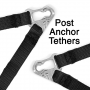 Simpson Hybrid Sport - Post Anchor Compatible: Post Tether Anchors