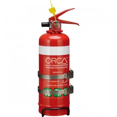 1kg Handheld Extinguisher Twin Strap