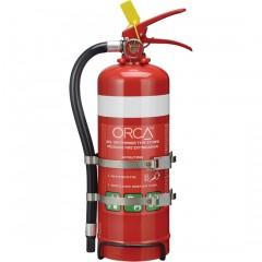 2kg Handheld Extinguisher Twin Strap
